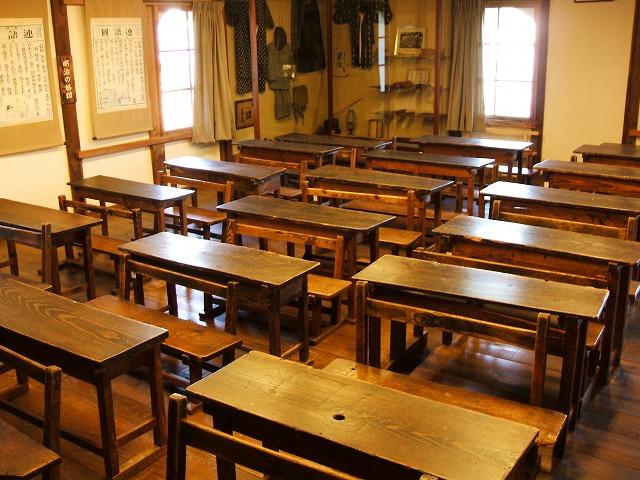 開明学校の教室