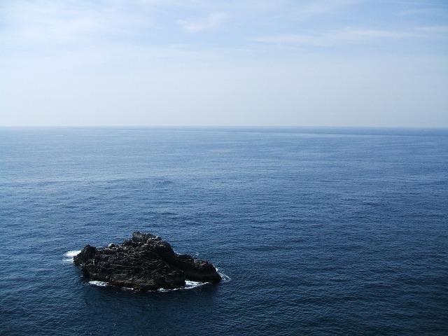 足摺岬から見た海