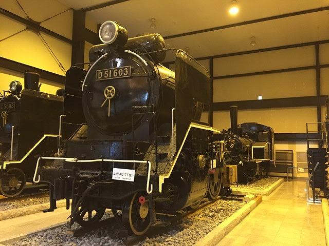 トロッコ列車のSL