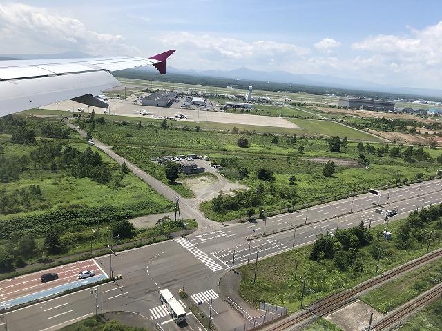 上空からの新千歳空港
