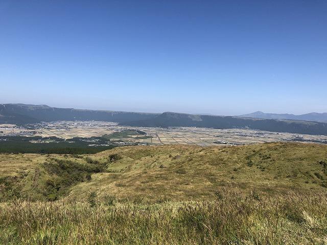 阿蘇山 パノラマショット